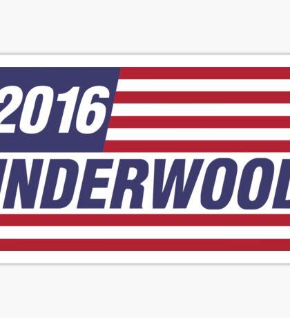 Frank Underwood President 2016 Sticker