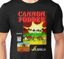 Unisex Cannon Fodder Amiga Game T-shirt. S to 3XL.