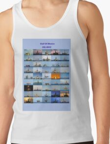 Oil rigs of the Gulf of Mexico Tank Top
