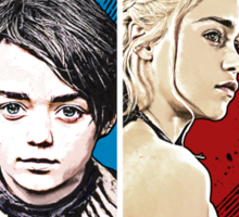 Game of Thrones: 4 Women of Westeros Sticker