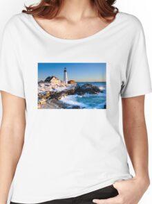 Portland Head Light at Sunrise Women's Relaxed Fit T-Shirt