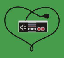 Love Nintendo NES Kids Clothes