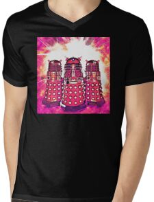 Radiant Daleks Mens V-Neck T-Shirt