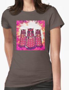 Radiant Daleks Womens Fitted T-Shirt