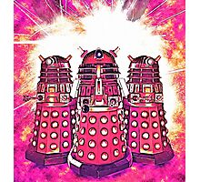 Radiant Daleks Photographic Print