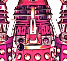 Radiant Daleks Sticker