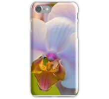 Pink Orchids, Close-up iPhone Case/Skin