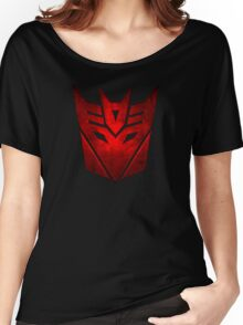 Decepticon RED Women's Relaxed Fit T-Shirt
