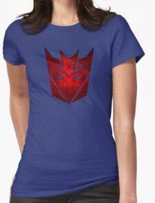 Decepticon RED Womens Fitted T-Shirt