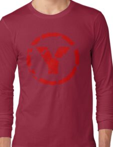 prYda red Long Sleeve T-Shirt