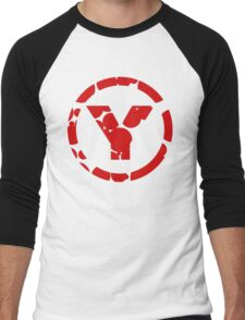 prYda red Men's Baseball ¾ T-Shirt