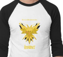 Team Instinct - Zapdos Men's Baseball ¾ T-Shirt