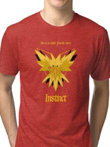 Team Instinct - Zapdos Tri-blend T-Shirt