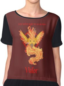 Team Valor - Moltres Chiffon Top