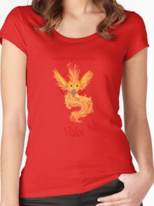 Team Valor - Moltres Women's Fitted Scoop T-Shirt