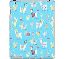 Alpaca Pattern iPad Case/Skin