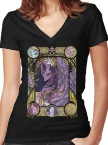 Princess Twilight Sparkle Women's Fitted V-Neck T-Shirt