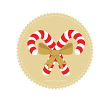 Candycane Bouquet Gold by lisajaynemurray