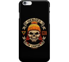 Heroes of Canton Bike Club iPhone Case/Skin