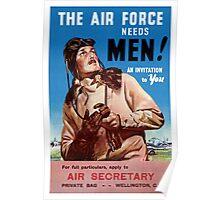 New Zealand Vintage Poster Restored Poster