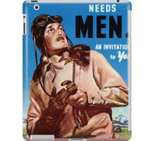 New Zealand Vintage Poster Restored iPad Case/Skin