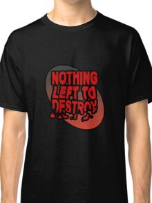 Destruction case Classic T-Shirt