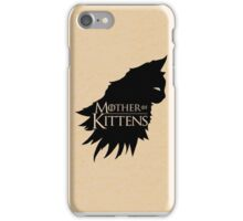 Mother Of Kittens iPhone Case/Skin