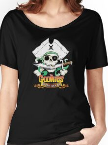 The Goonies - Never Say Die Black Variant Women's Relaxed Fit T-Shirt