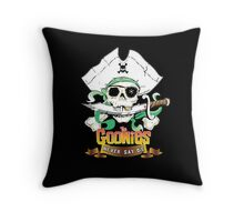The Goonies - Never Say Die Black Variant Throw Pillow