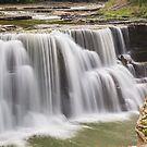 Lower Falls at Letchworth by Kenneth Keifer