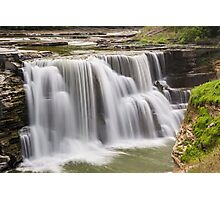 Lower Falls at Letchworth Photographic Print