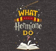 What Would Hermione Do? Zipped Hoodie