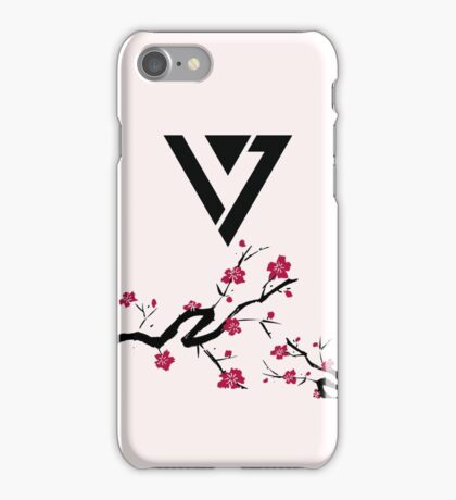 Seventeen Cherry Blossom Logo iPhone Case/Skin