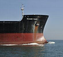 Tanker Delaware Trader by Bradford Martin
