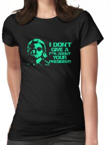 Escape from New York Snake Plissken Womens Fitted T-Shirt