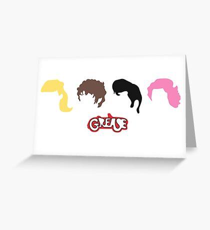 grease musical  Greeting Card