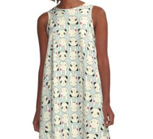 Panda & Rabbit A-Line Dress