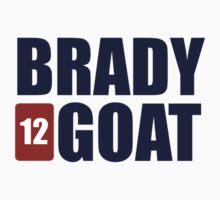 BRADY *12* GOAT Kids Tee