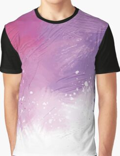 Paint Brushing Graphic T-Shirt