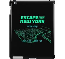 Escape from New York Manhattan mission iPad Case/Skin