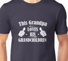 This Grandpa Loves His Grandchildren Unisex T-Shirt