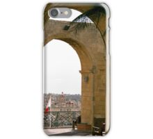 Valletta through the arches – Malta iPhone Case/Skin