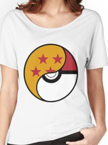 Dragon Ball x Pokemon Women's Relaxed Fit T-Shirt