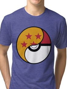 Dragon Ball x Pokemon Tri-blend T-Shirt