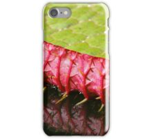 Leaf of a water lily iPhone Case/Skin