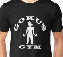 Goku's Gym (White) Unisex T-Shirt