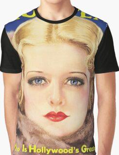 Joan Bennett - Photoplay Graphic T-Shirt