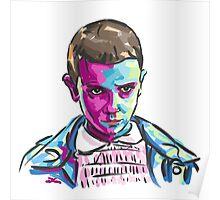 Eleven (11) - Stranger Things Poster