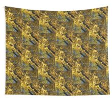 Golden Canopy - Look Up to the Trees and Enjoy Autumn - Vertical Right Wall Tapestry