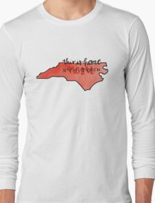 This is home-NC State Long Sleeve T-Shirt